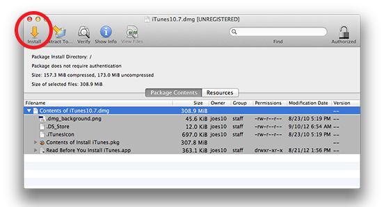 Downgrade iTunes 11 to iTunes 10.7