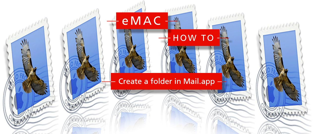 Create a folder in Mail.app