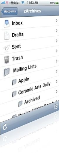 How To: Create A Folder in iPhone Mail