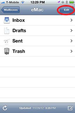 How To: Create A Folder in iPhone Mail - Revisited 01