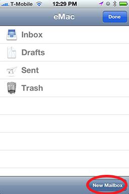 How To: Create A Folder in iPhone Mail - Revisited 02