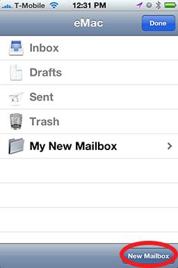 How To: Create A Folder in iPhone Mail - Revisited 05