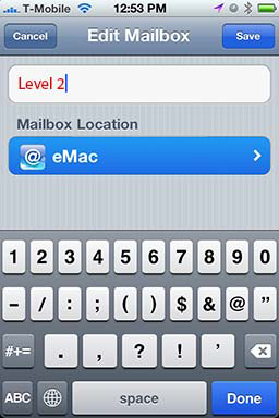 How To: Create A Folder in iPhone Mail - Revisited 06