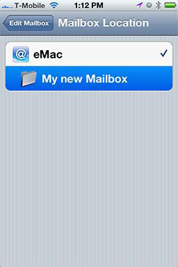 How To: Create A Folder in iPhone Mail - Revisited 07