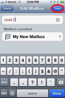How To: Create A Folder in iPhone Mail - Revisited 08