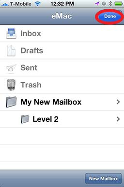 How To: Create A Folder in iPhone Mail - Revisited 09