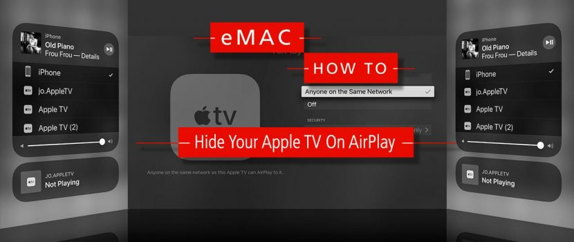 How To: Hide Your Apple TV On AirPlay 3