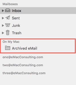 How To: Create a folder in Mail.app 2