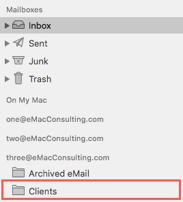 How To: Create a folder in Mail.app 7